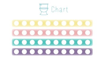 Potty Training Sticker Chart | Mommy Miracles