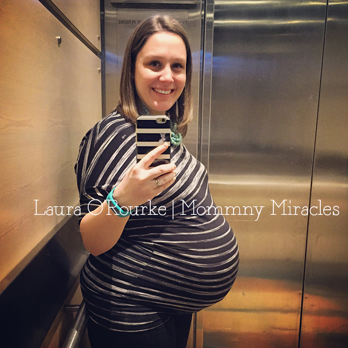 39 Weeks Pregnant and Working | Mommy Miracles