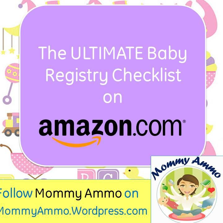 Ultimate Baby Registry Shopping Checklist \u2013 Amazon Baby Registry