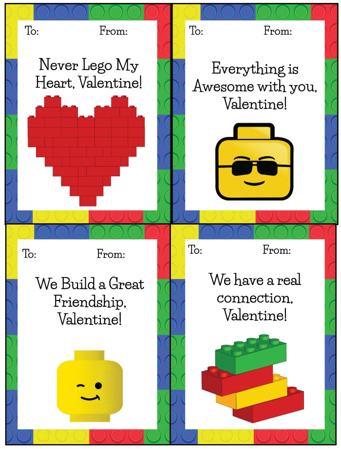 60 Free Valentine\u0027s Day Class Card Printables for Children
