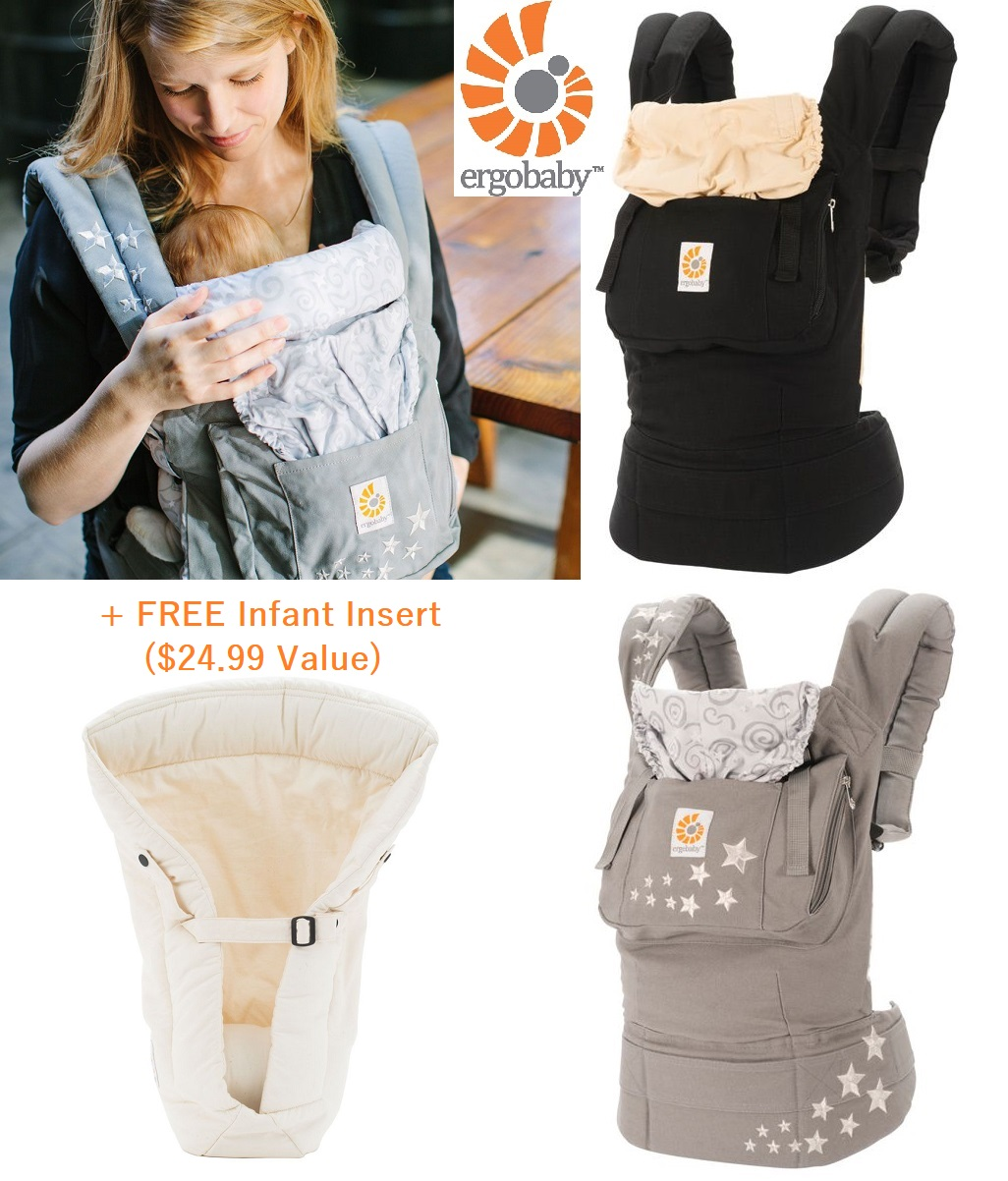 Ergobaby Original Carrier With Infant Insert Original Ergobaby Carrier Free Infant Insert