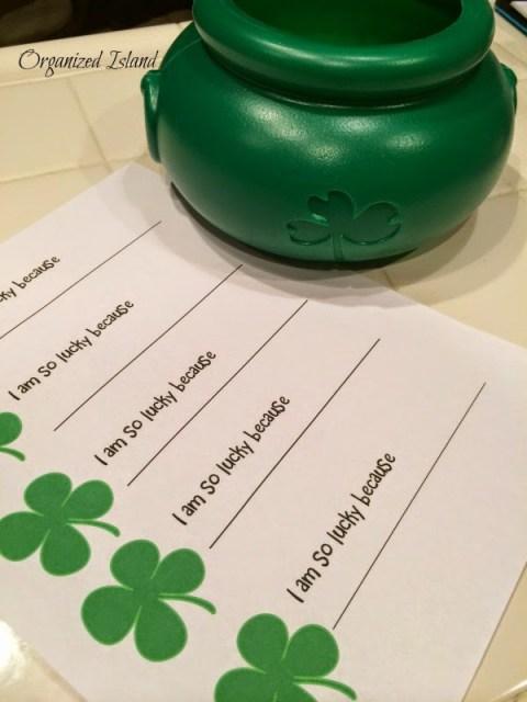 Kids Crafts for St. Patricks Day