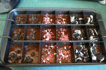 Amazing Brownie Toppings