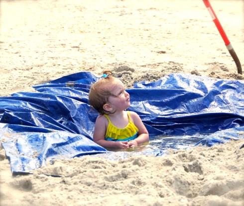 Fun things for kids on the beach laresa watkins for Little kid fishing pole