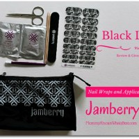 Jamberry Nails Review and Giveaway -Ends 12/12 #BlackLaceJN