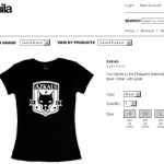 Azkals Team T-shirt by Team Manila and Phil Young asked Angel to be his date on Vday!