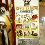 McDonalds Kiddie Crew Workshop Schedule 2015
