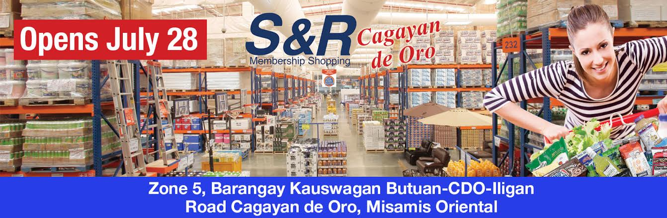 S&R Membership Shopping Soon To Open At Cagayan De Oro