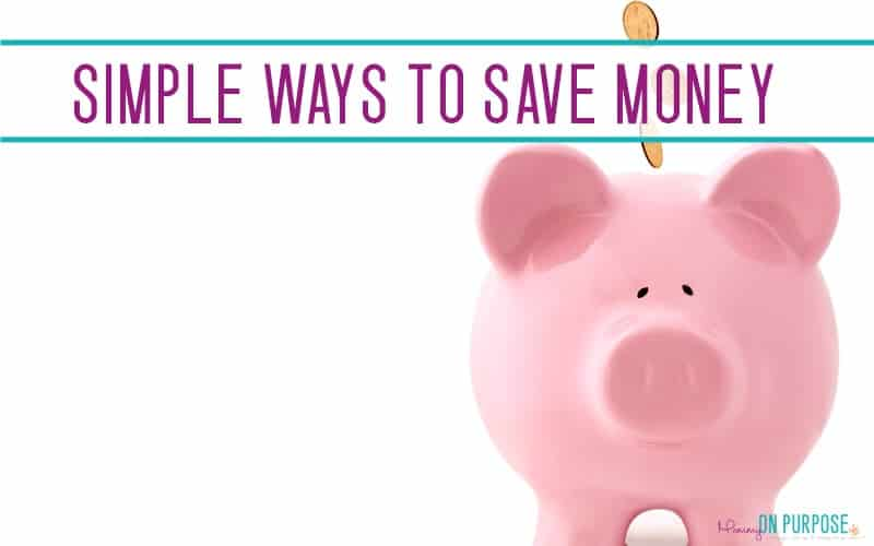 30 Easy Ways to Save Money and Live Frugally - Mommy on Purpose - simple sales contract