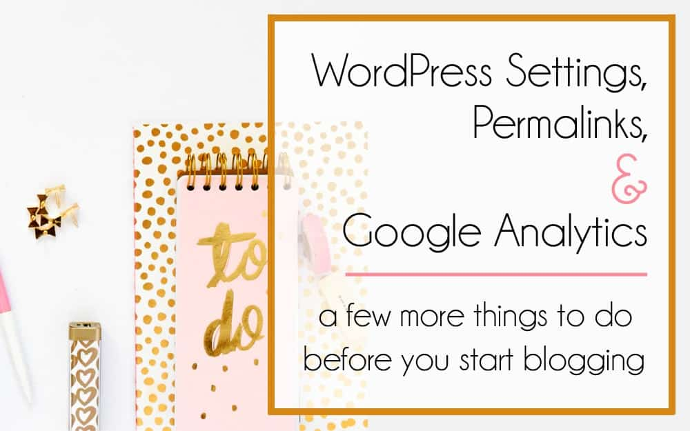 WordPress Settings, Permalinks and Google Analytics - Mommy on Purpose - what is the purpose of a cover letter