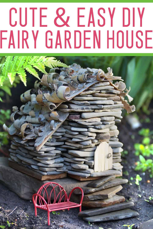 Captivating How To Build A Fairy Garden House Mommy On Purpose Fairy Garden Houses Hobby Lobby Fairy Garden Houses Cheap curbed Fairy Garden Houses