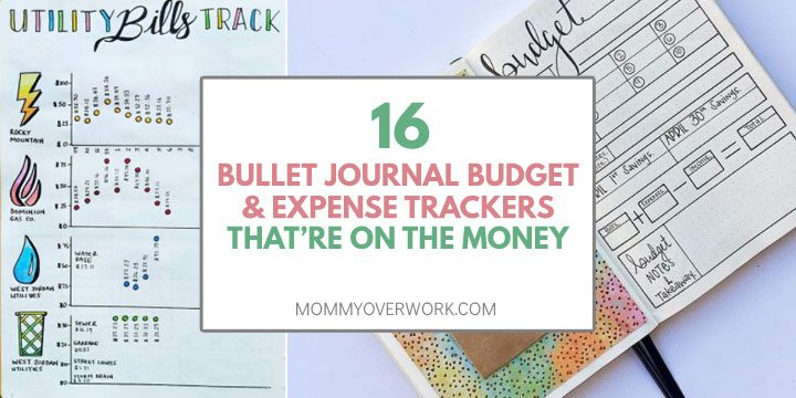 16 Bullet Journal Budget  Expense Trackers that\u0027re ON THE MONEY