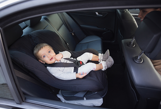 Baby Car Seat In A Taxi Nyc Car Services With Car Seats For Babies And Kids