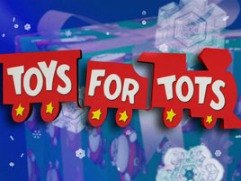 Toys For Tots And Other Donations For La Children At