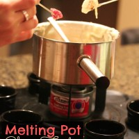 Melting Pot Cheese Fondue Recipe