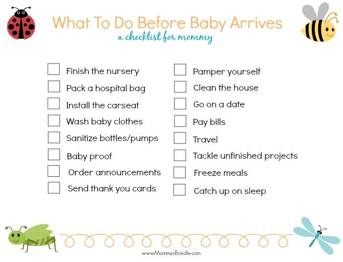 Sample Newborn Checklist - Resume Template Sample