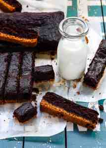 Eggless Brownie Sticks