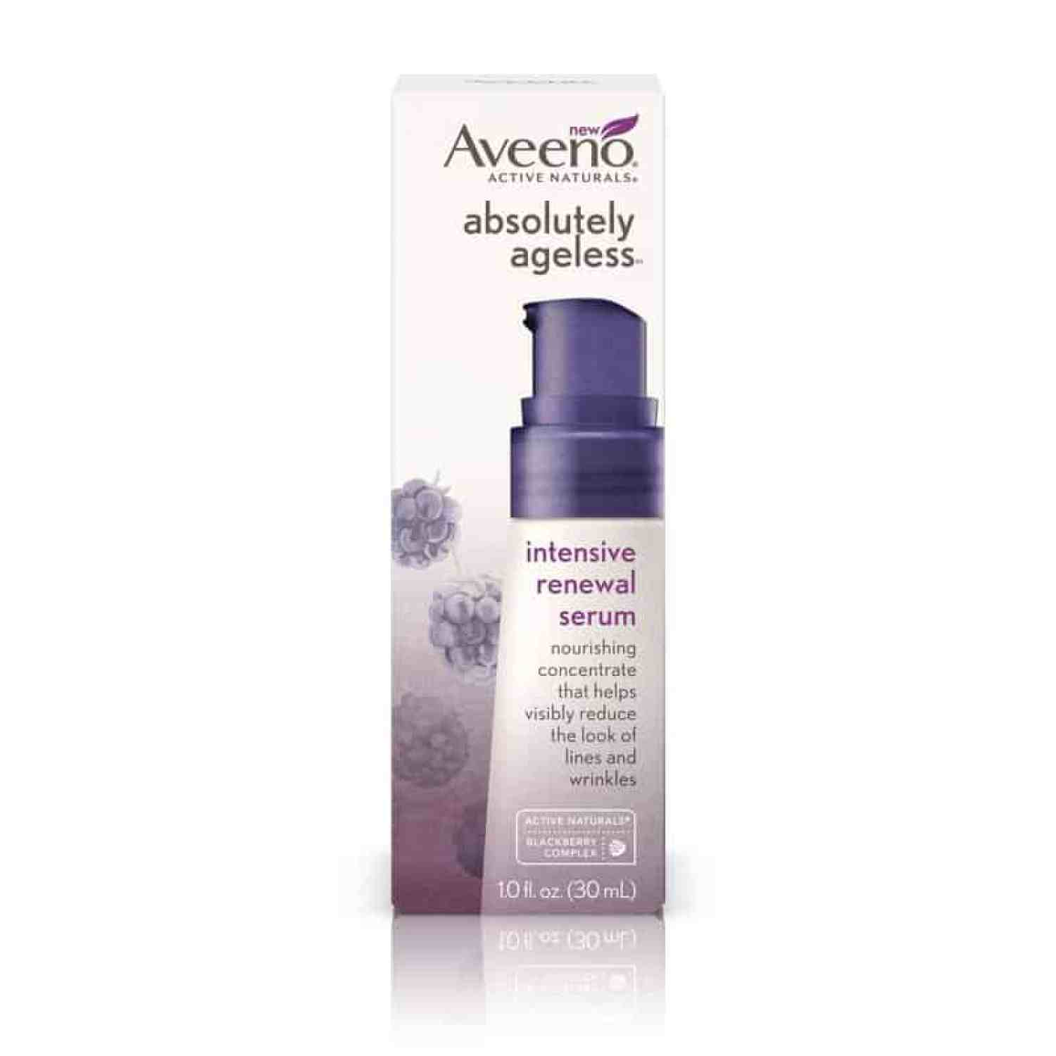 Ageless Serum Aveeno Absolutely Ageless Simple Affordableand Easy
