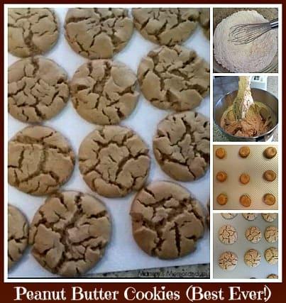 Peanut Butter Cookies (the best ever!) #Recipe • Mommy's Memorandum