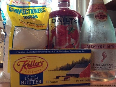 pink champagne icing ingredients