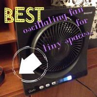 The BEST Oscillating Fan for Tiny Spaces! Honeywell Fan Review & Giveaway!