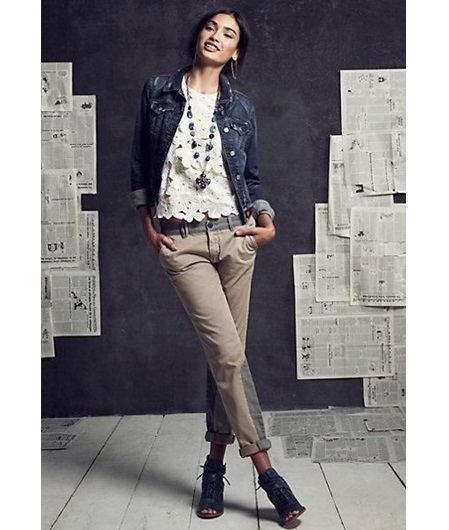 tomboy lace and khaki l WWW.MOMMYSTYLIST.COM #TheMommyStylist