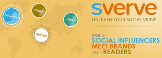 Introducing Sverve for Influential Mom Bloggers + 12/13 Twitter Party