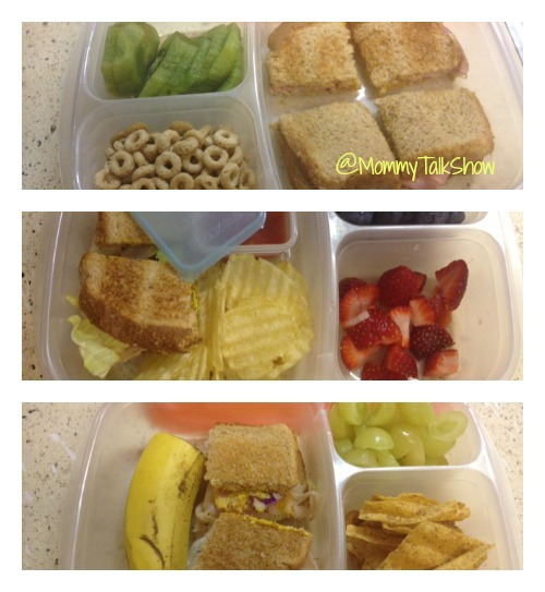 Easy Lunchboxes Ideas