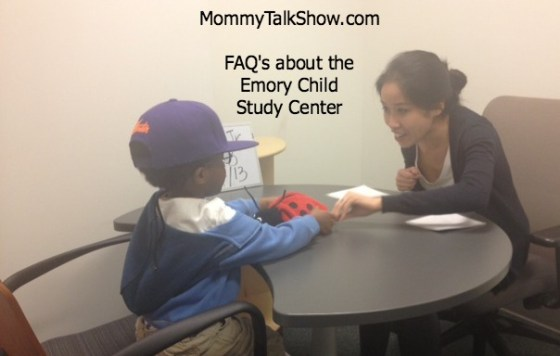 FAQ's about the Emory Child Research Center