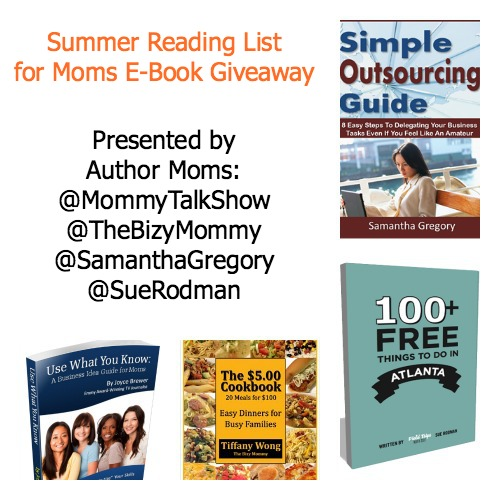 Summer Reading List for Moms: 4 E-Book #Giveaway