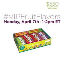 Join me at the #VIPFruitFlavors Twitter Party April 7th 1-2 p.m.