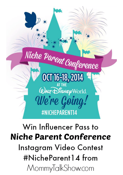 Win Influencer Pass to Niche Parent Conference: Instagram Video Contest #NicheParent14