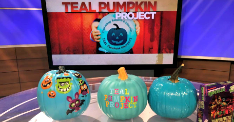 "[VIDEO] Teal Pumpkin Project Halloween Ideas on ""Atlanta Plugged In"""