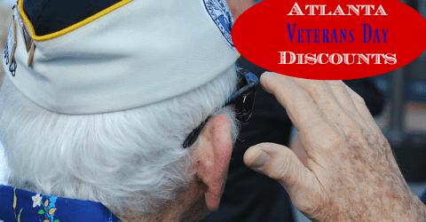 Veteran's Day Discounts in Atlanta
