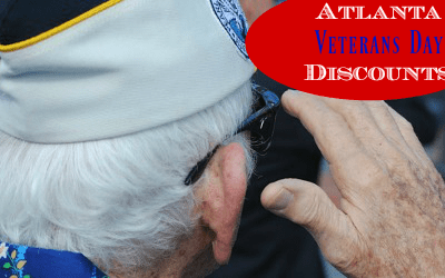 2016 Veteran's Day Discounts in Atlanta
