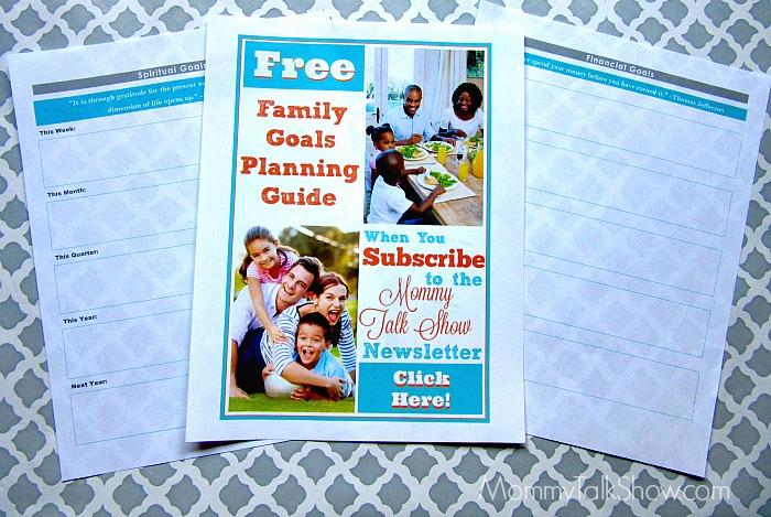 Family Goals Planner