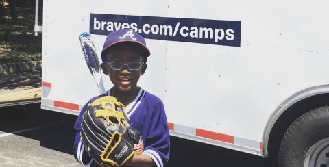 2017 Atlanta Braves Summer Camp + Savings Code to Register