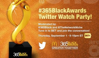 Tweet & Watch #365BlackAwards on BET 9/1 at 9p ET