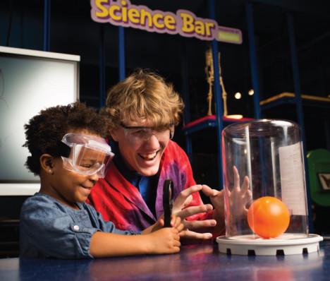 Children's Museum Science Bar