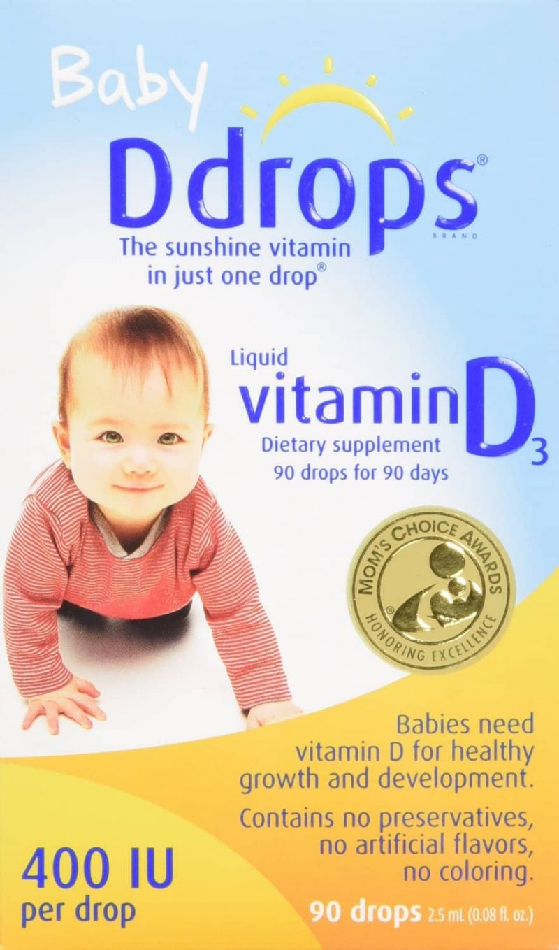 Infant Baby Milk Intake Best Vitamin D Drops For Baby Baby Ddrops Review Mommy