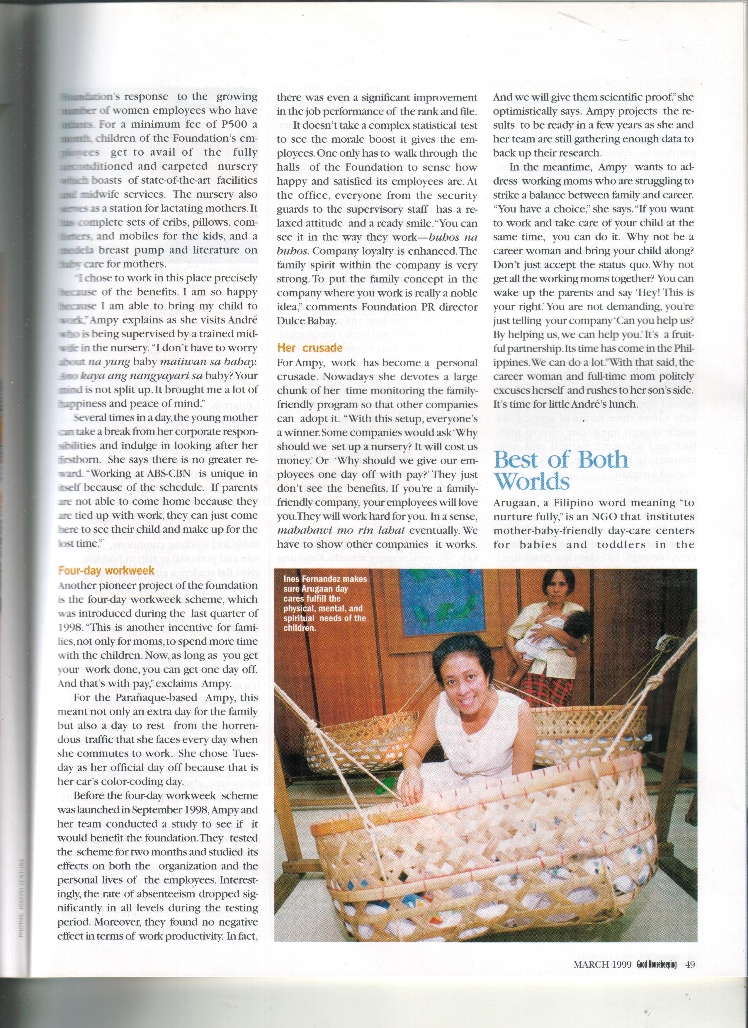 03-99 Mother Friendly Workplaces 2