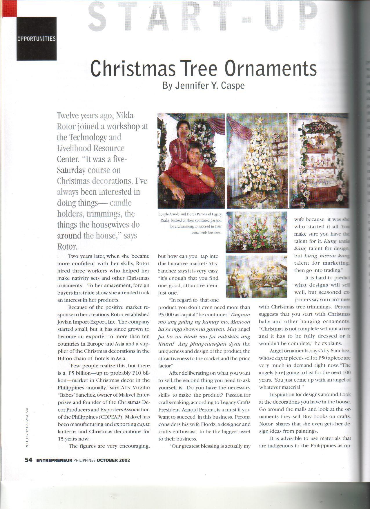 10-02 Christmas Tree Ornaments 1
