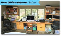 Home Office Makeover - MomOf6