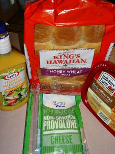 Ham Sammie Ingredients