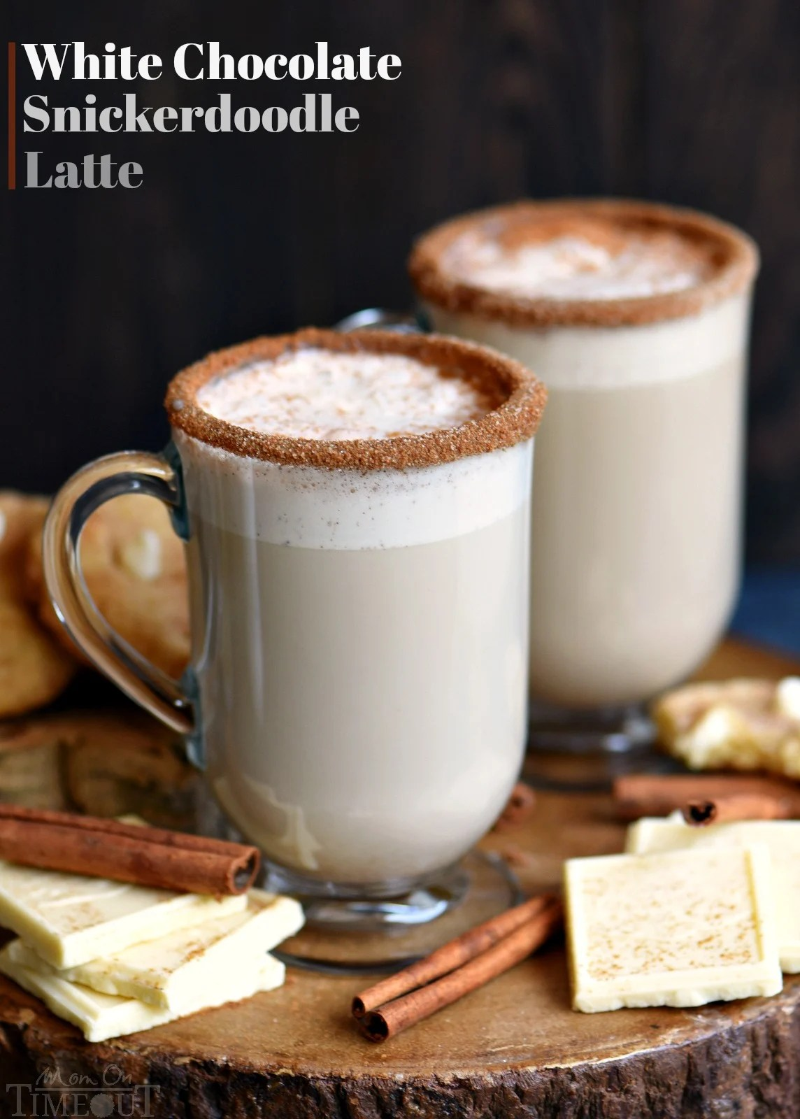 Coffee Latte White Chocolate Snickerdoodle Latte