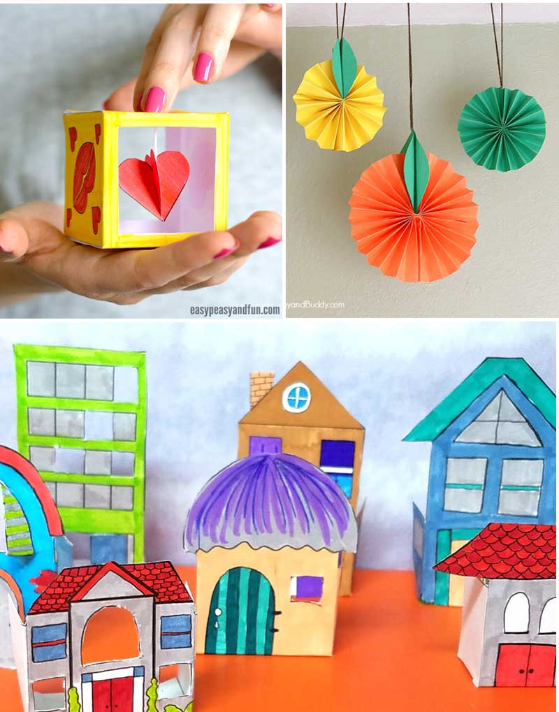 Art Craft Ideas Fun Crafts For Tweens With Paper Moms And Crafters