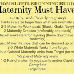 Maternity Wardrobe Must Haves