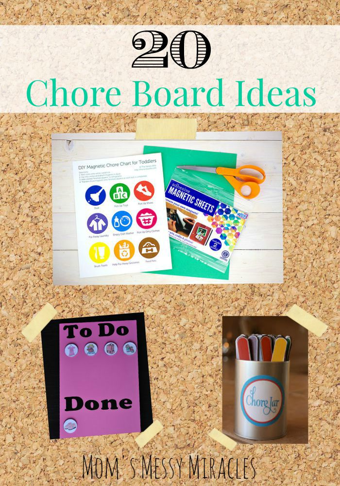 20 Creative Chore Chart Ideas - The Shirley Journey