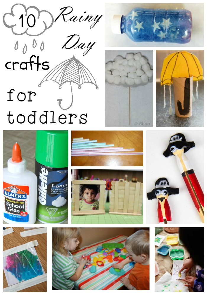 Toddler In Car Entertainment Rainy Day Crafts For Toddlers The Shirley Journey