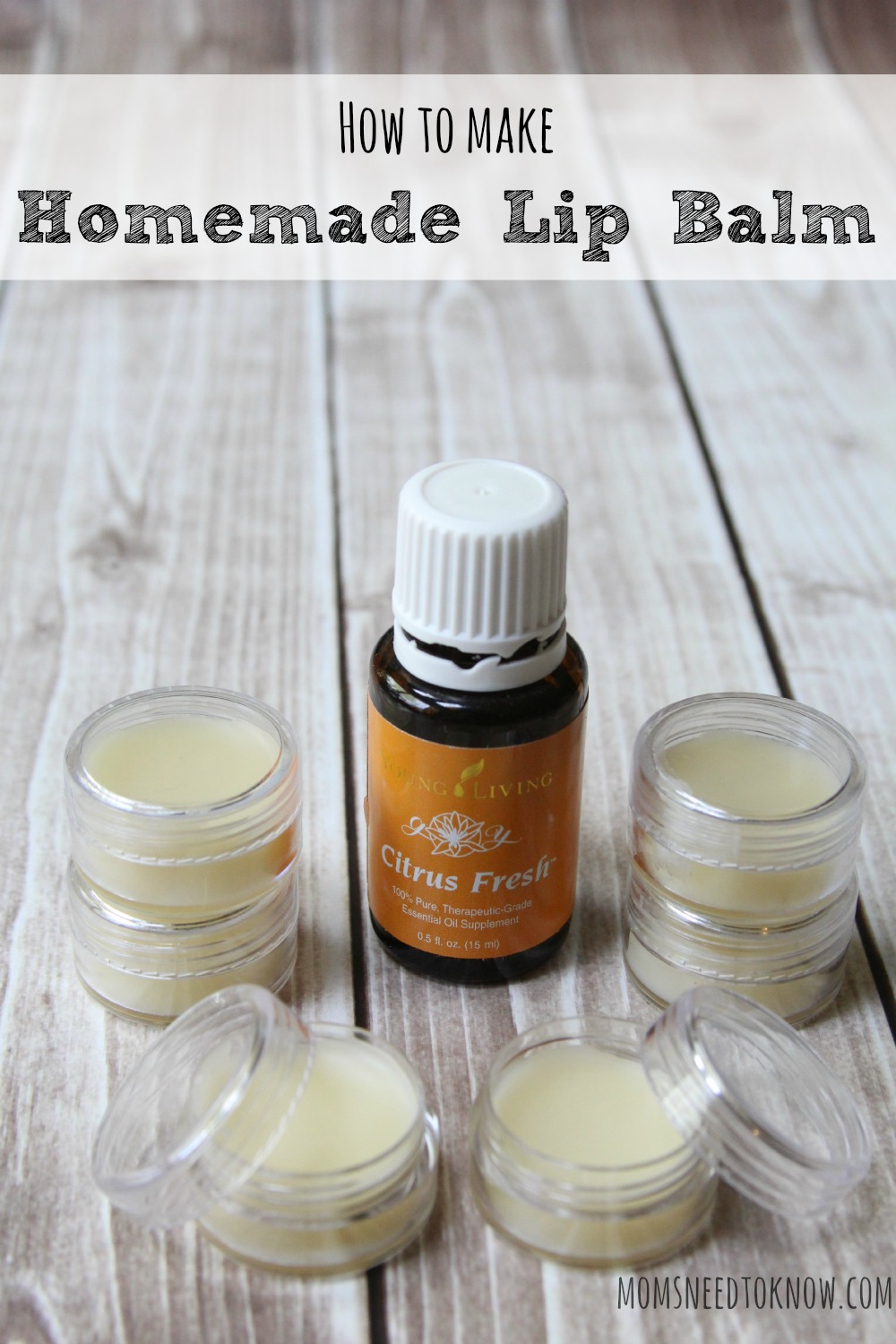 Diy Lip Balm Flavors Homemade Lip Balm Recipe Made With Beeswax And Shea